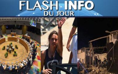 Flash info mercredi 3 juillet
