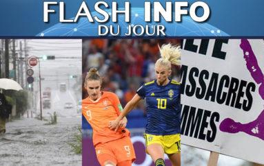 Flash info 04 juillet
