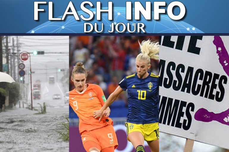 Flash info 04 juillet