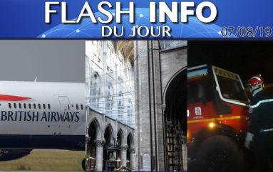 Flash info 07 août